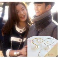 韩国明星饰品批发 全智贤珍珠手环来自星星的你千颂伊大珍珠手镯