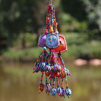 豆壳核桃工艺品  豆壳野果挂件  创意植物工艺品 少数民族礼品