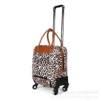 厂家直销 花色拉杆箱万向轮提包旅行包 时尚拉杆包可提行李箱包