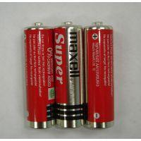 万胜MAXELL五号碳性干电池R6P红壳 AA SIZE 钟表专用电池