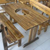 大理石火锅餐桌厂家 餐厅电磁炉火锅台 火锅桌子