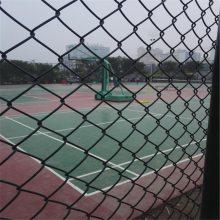 旺来球场围网施工工艺 体育器材围网 菱形编织网片