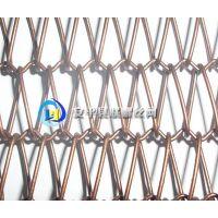 合股编织网 不锈钢密网 金属编织工艺网帘 幕墙装饰网