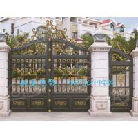 东莞铝合金护栏-别墅金属庭院整套门-别墅围墙护栏欧雅斯围栏厂家