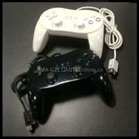 Classic Pro game controller for wii and wii U, gamepad joypad joystick for Nintendo wii and wii U