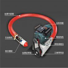 扁螺旋吸粮机 装车多功能吸粮机 润华电动跟车吸料机