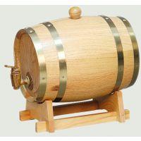 厂家直销橡木酒桶葡萄酒桶定制优质橡木红酒酒桶