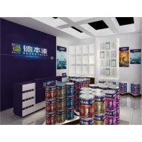 外墙工程漆十大品牌室内装修油漆十大品牌有实力的涂料厂家 德本漆加盟