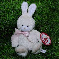 东莞毛绒厂家定制手机吉祥物  毛绒兔公仔  毛绒玩具加工