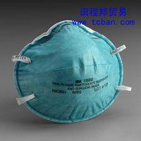 正品3M1860医用高效防护口罩 防肺结核病防 H7N9病毒 N95级口罩