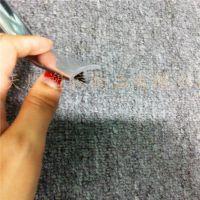 厂家热销供应 PVC扣条 PVC包边条尺寸 木门装饰用玫瑰金镜面装饰条