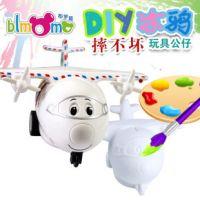 搪胶DIY玩具彩绘娃娃 白坯批发石膏模具 涂鸦陶瓷手绘公仔YX-L016