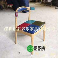 2015年新款餐椅 出口餐椅定制 水曲柳实木 高档餐厅椅子