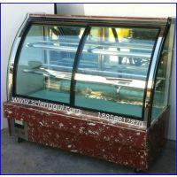 佳伯欧式蛋糕柜 广西前开门弧形蛋糕柜价格 蛋糕保鲜展示柜