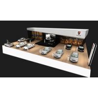 专业定制ABS型东风风行汽车车展模型本品为塑胶制价廉质优