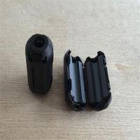 扣式磁 装配磁环夹扣磁环卡扣磁环磁通扣线材磁环镍锌磁环磁珠嘉林磁业厂家直销