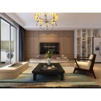 【山水装饰集团】华润橡树湾 123平米 现代风格