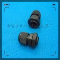 乐清厂家尼龙电缆接头PG11尼龙电缆密封接头塑料电缆防水接头