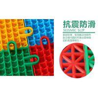 篮球场拼装米字格悬浮式运动地板