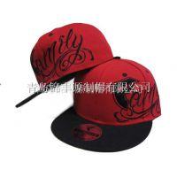 2015年秋季新款欧美风 刺绣logo 嘻哈帽 平沿帽