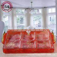 欧式果盘   淘宝红色大号带碗水果干果糖果盘 结婚用品