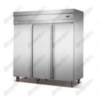 全不锈钢六门冷藏冷冻柜 厨房高身柜酒店厨房用品
