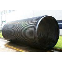 江西HDPE高密度聚乙烯缠绕结构壁增强管(B型管)