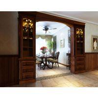 黎郡新宇熙春园 120平米装修-美式风格-两房两厅装修样板房