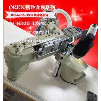 奥玲原装四针六线,即ISO607线迹缝纫机,由四根面线、一根底线和一