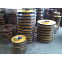 生产外径Φ470槽底直径400 亚重牌 天车轧制滑轮片
