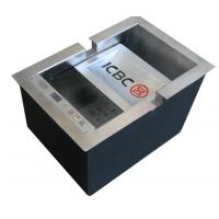 鼎银新款DY968触摸和按键二种输入密码方式多功能收银槽直销