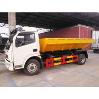一款适用于污水(污泥)处理厂的5-10立方污泥垃圾运输车供应厂家及价格说明