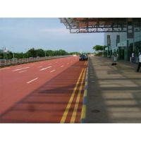 无砂透水混凝土改善城市内涝路面透水材料茂璟地坪