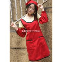 武汉庆洋制衣(已认证),孝感围裙,围裙制作