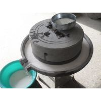 香油电动石磨机 肠粉专用手磨机 黄豆磨浆机