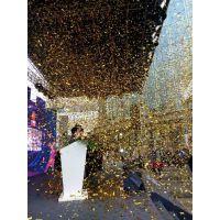 广州专业供应舞台特效彩虹机出租,舞台开合金球吊挂金球安装租赁服务