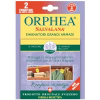 ORPHEA/奥菲雅天然清香衣物防蛀挂式香片 薰衣草香型 瑞士进口 替代樟脑丸