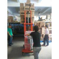 佛山鑫升力厂家定制无腿配重式电动堆高车 平衡重式电瓶堆高车