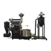 大型咖啡豆烘焙自动化生产线 南阳东亿30KG咖啡烘焙设备15688198688