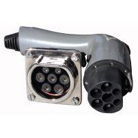 电动汽车交流连接器七针国标充电插头(充电枪)