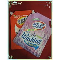 定做铝箔高档彩印洗衣液吸嘴袋 洗衣液袋厂家供应