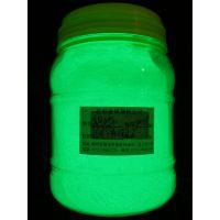 供应丝网印刷环保特细庄彩黄绿光夜光粉 工艺品涂料长亮长余晖夜光粉