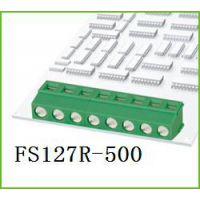 FS127R-5.0绿色接线柱环保弯针DG127R
