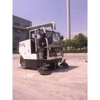 洁博士厂家定制JIEBOSS-2000洒水电动扫路机全封闭垃圾自卸扫地车充电式扫地机清扫车清扫机