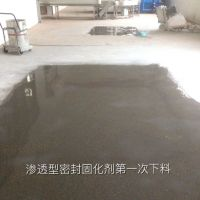 郫县佰立德室内起灰起砂地坪工程