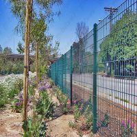 供应高速 护栏 双边丝护栏网 框架围栏网 绿色环保