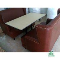 简约餐厅桌椅批发 运达来定制实惠耐用餐桌 深圳大型餐厅工程定制