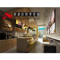 合肥时尚连锁休闲餐饮门店装修特色小吃店设计