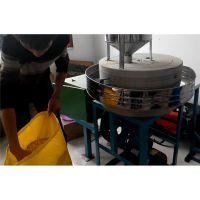 振德牌粮食加工设备 电动面粉石磨机 小麦石磨面粉加工成套设备