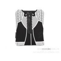 时尚夹克系列衣形内胆包潜水料竖款黑色创意电脑内胆包批发订做